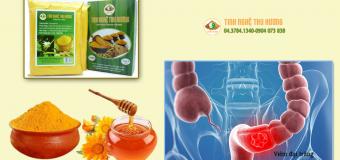 Viêm đại tràng và công dụng của tinh bột nghệ với bệnh viêm đại tràng